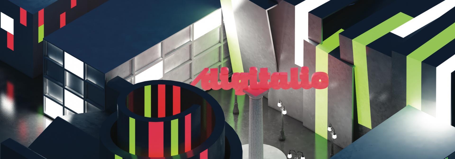 """Digitalic: la copertina lenticolare, n. 66 """"Futuro Italiano"""""""