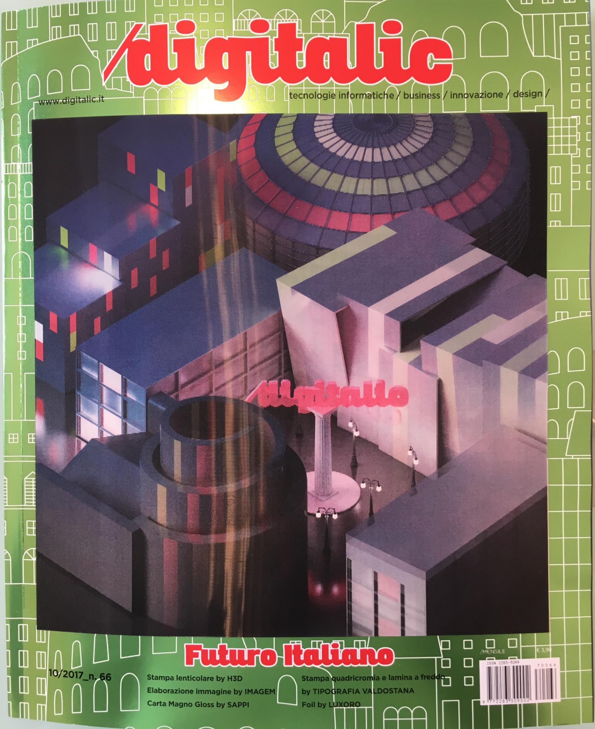 Digitalic Lenticolare n. 66 copertina