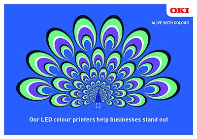 Stampa mono a costi contenuti sui dispositivi LED digitali a colori di OKI Europe
