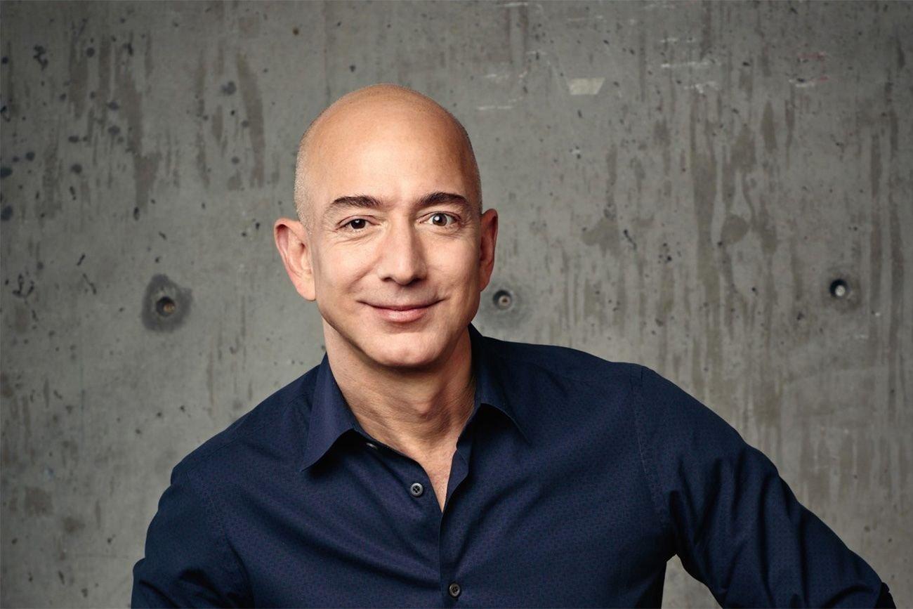 persone più ricche del mondo 2017 : Jeff Bezos Amazon