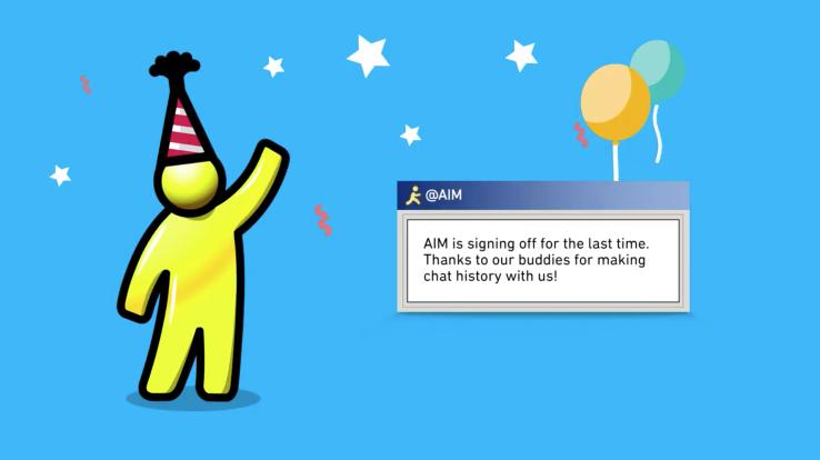 AOL Aim addio, l'Instant Messenger chiude dopo 20 anni