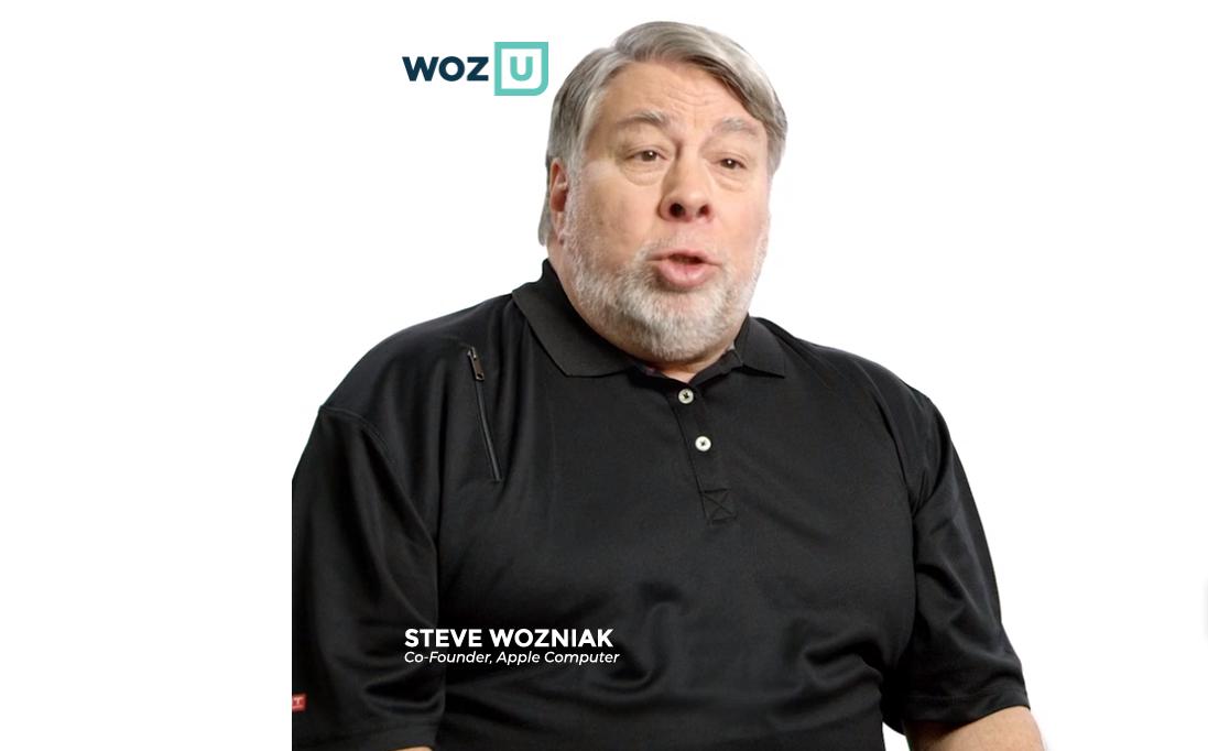 Woz U: Steve Wozniak presenta la sua piattaforma d'apprendimento