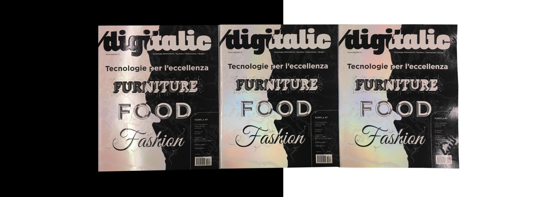Digitalic n. 67: Furniture, Food, Fashion – Tecnologie per le eccellenze