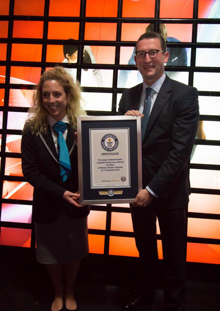 Guinness World Record fujitsu