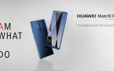 """Huawei Mate 10 Pro è il primo smartphone """"intelligente"""""""