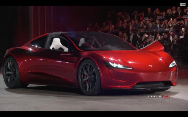 Tesla Roadster - caratteristiche e prezzo