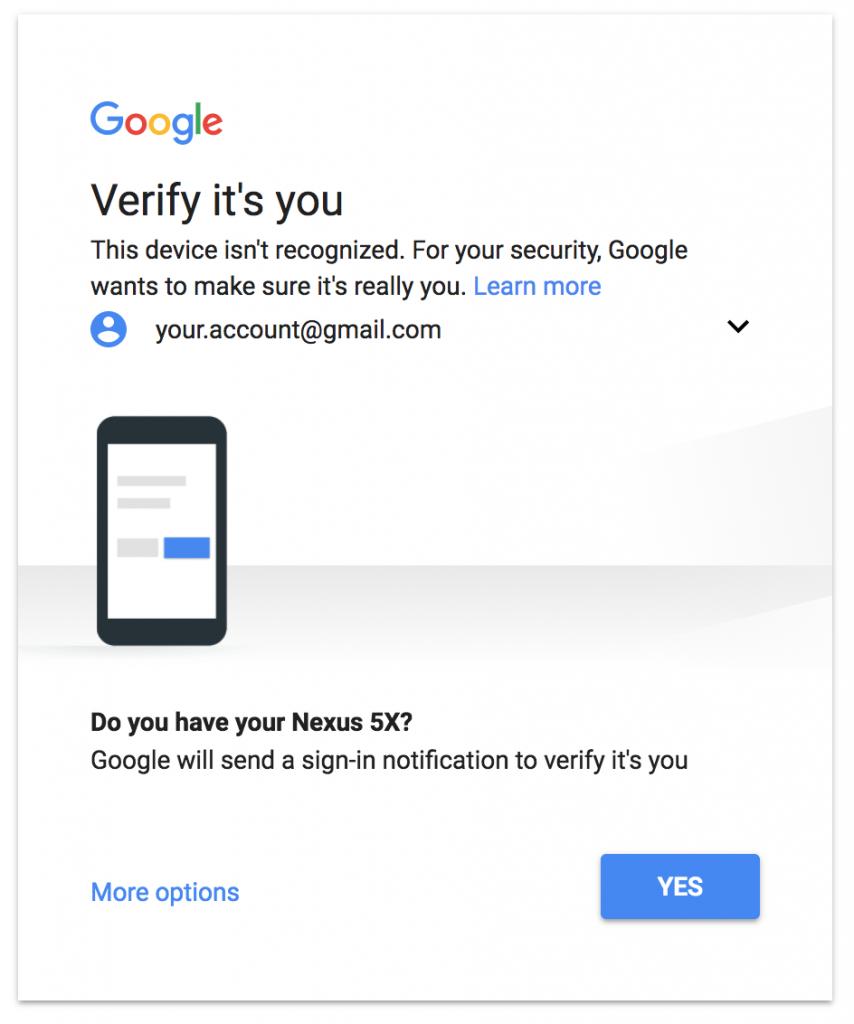 Google come hackerare un account