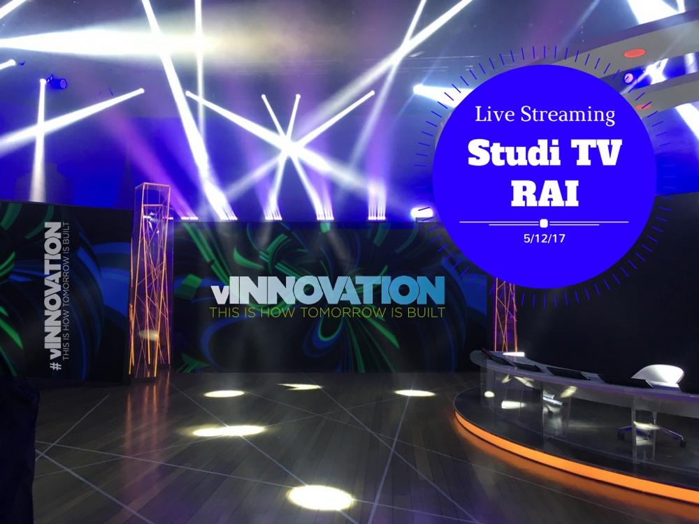 evento vInnovation Vmware Studi TV Rai