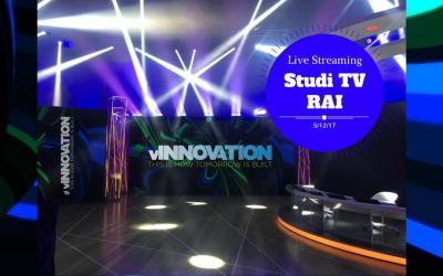 Segui in Live Streaming l'evento VMware vInnovation dagli Studi TV RAI
