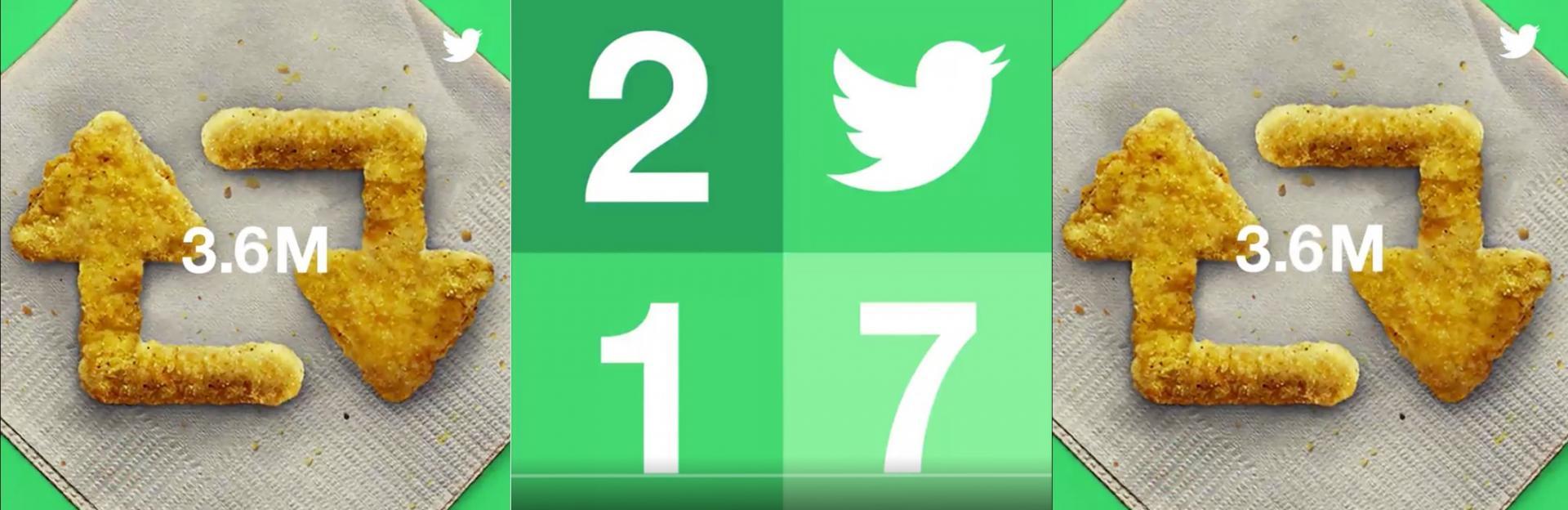 Il 2017 su Twitter: i tweet più retwittati, gli account più popolari