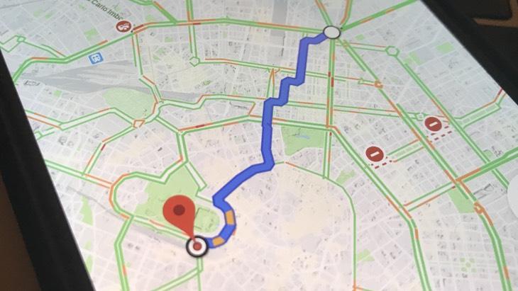 Google Maps ricorda scendere fermata