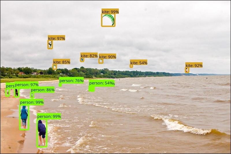 Riconoscimento oggetti TensorFlow