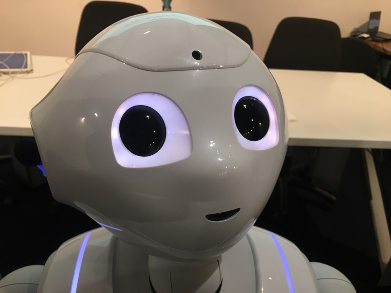Pepper Robot Amico