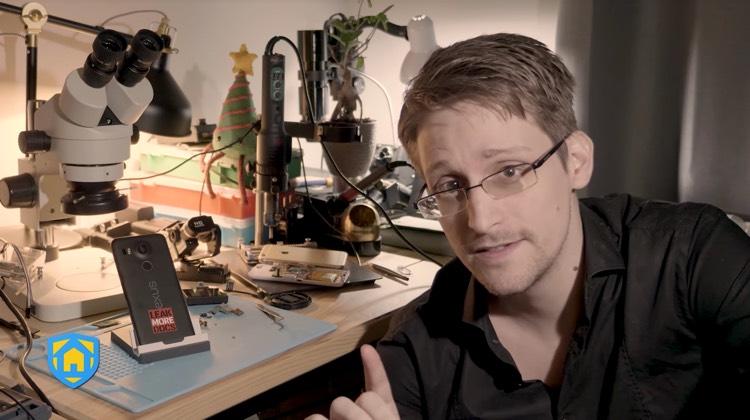 L' app di Edward Snowden per la sicurezza