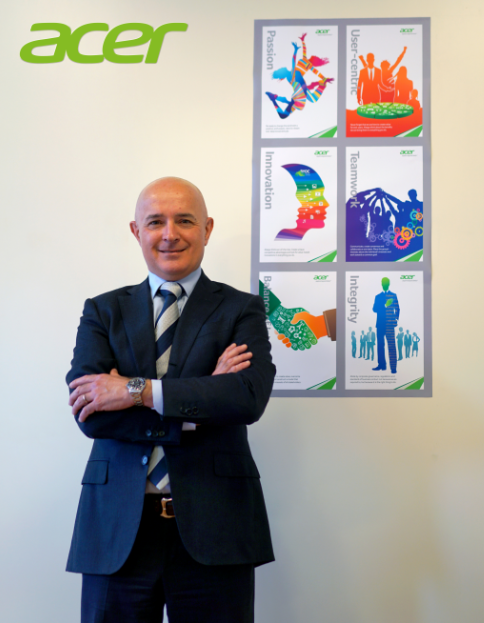 Marco Cappella, Country Manager di Acer Italia