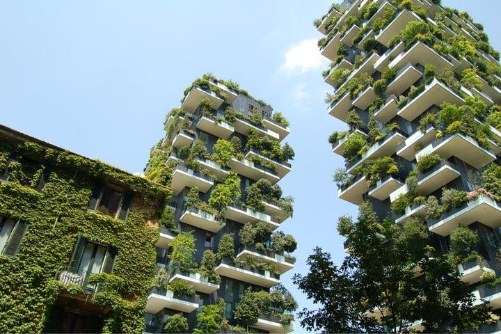 Edifici più belli del Mondo: Il Bosco Verticale (Milano, Italia)