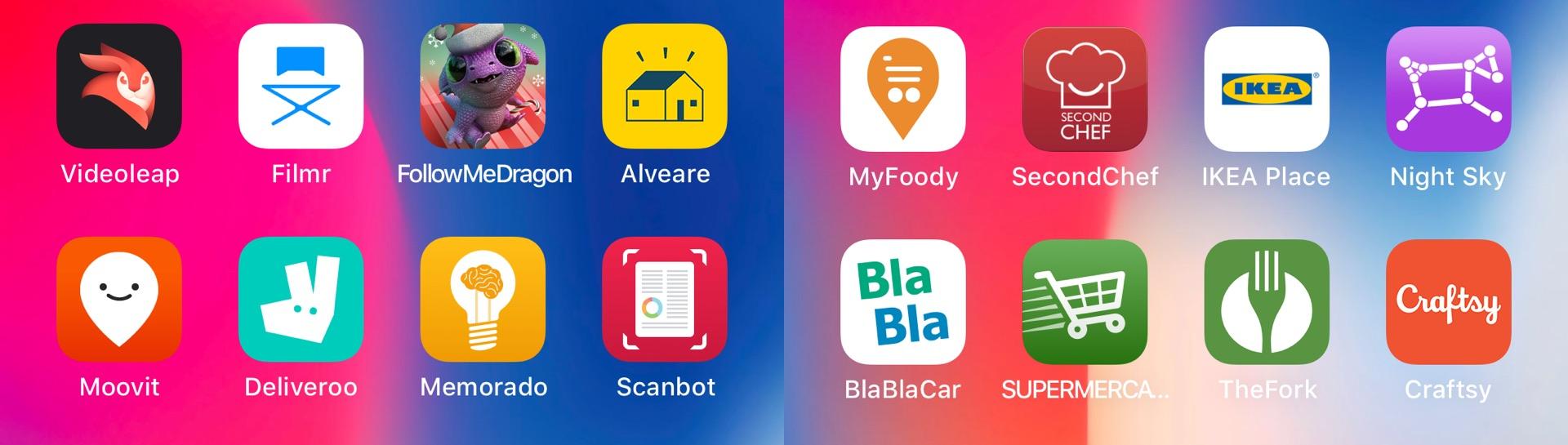 Le migliori app per iPhone consigliate da Apple