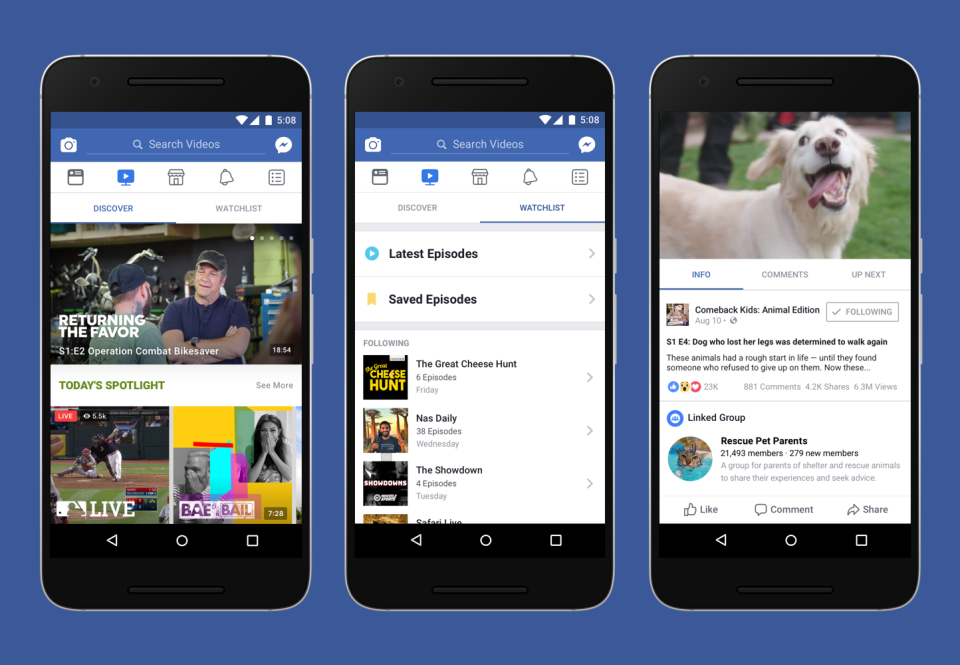 Video: Facebook Watch supererà YouTube