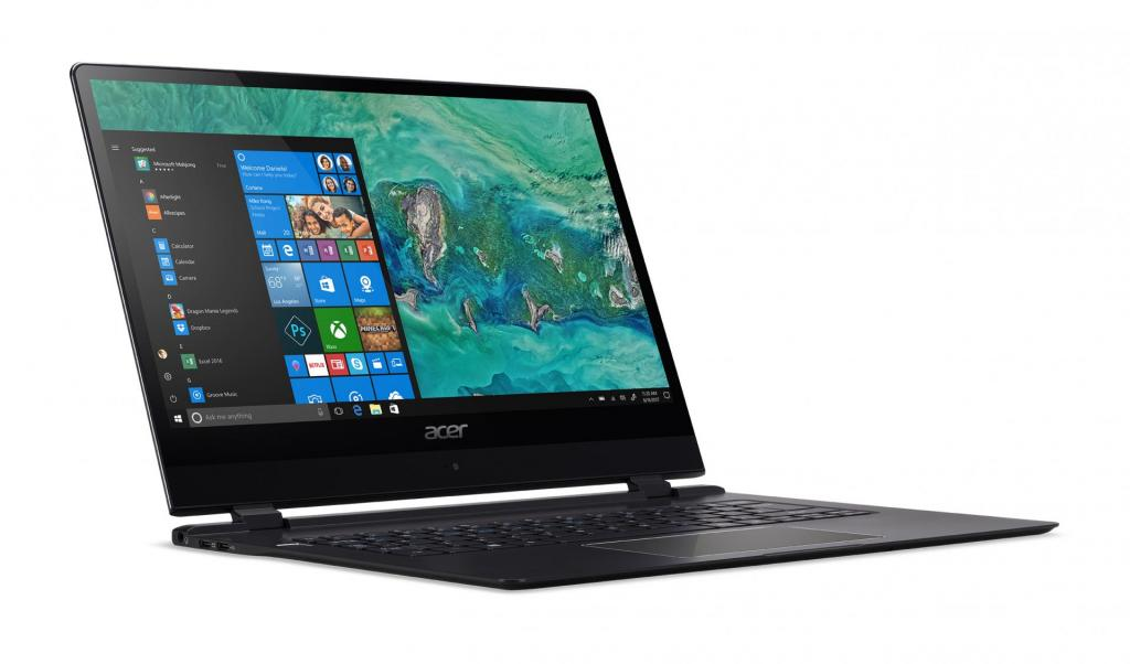 CES 2018 - Acer Swift 7