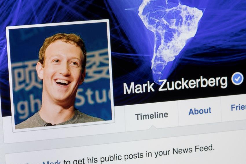 Mark Zuckerberg sfida personale 2018