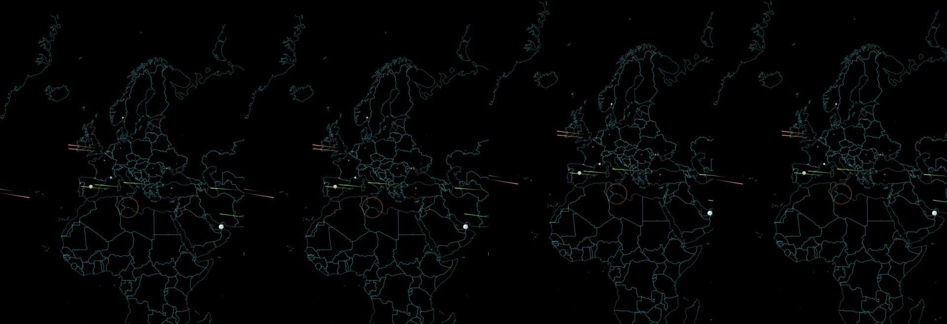 Norse, vedere gli attacchi informatici in diretta