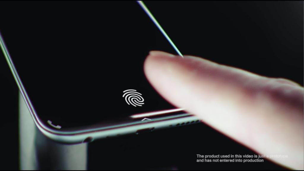 Vivo lettore di impronte digitali integrato nello schermo dello smartphone