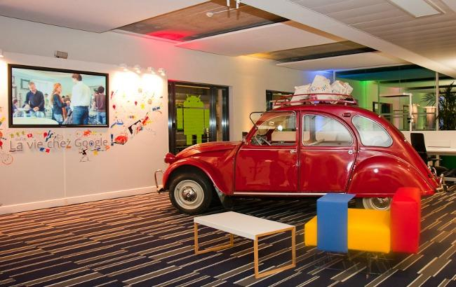 google in francia uffici parigi