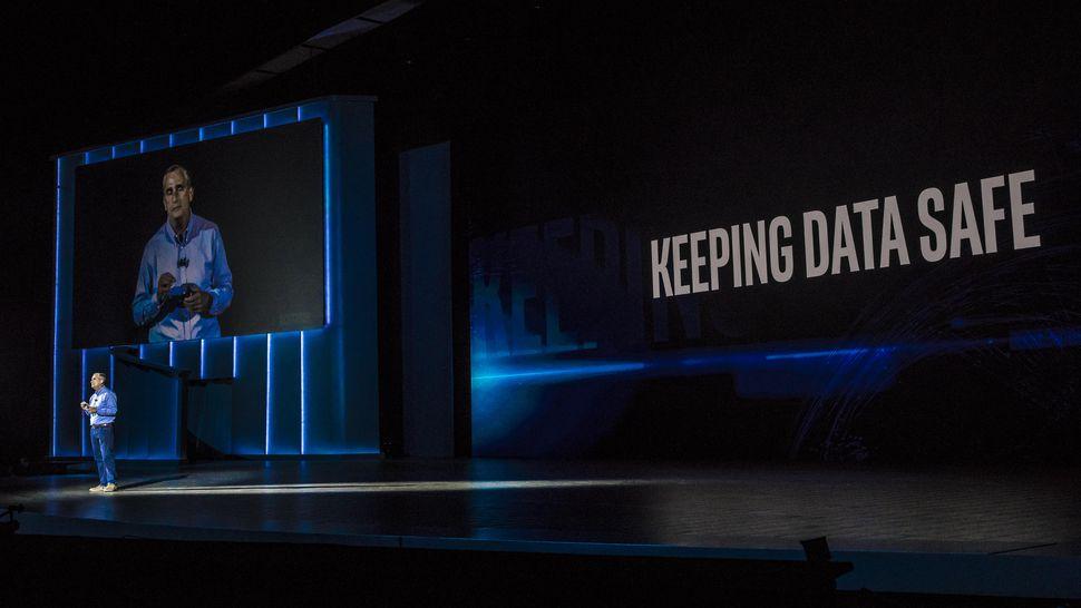 Brian Krzanich Ceo Intel a CES 2018