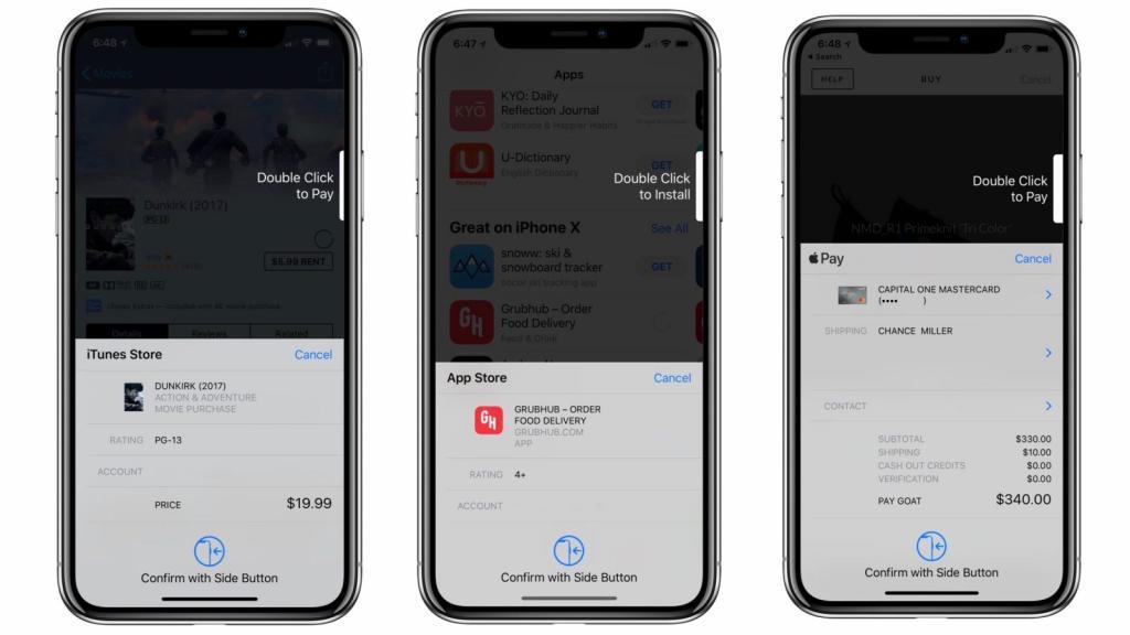 iOS 11.3 semplifica gli acquisti con Face ID