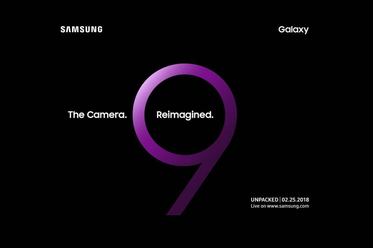Presentazione Samsung Galaxy S9 : il 25 febbraio, ufficiale