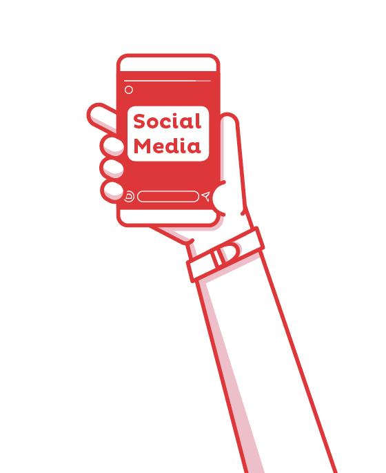 zac contenuti dei social media