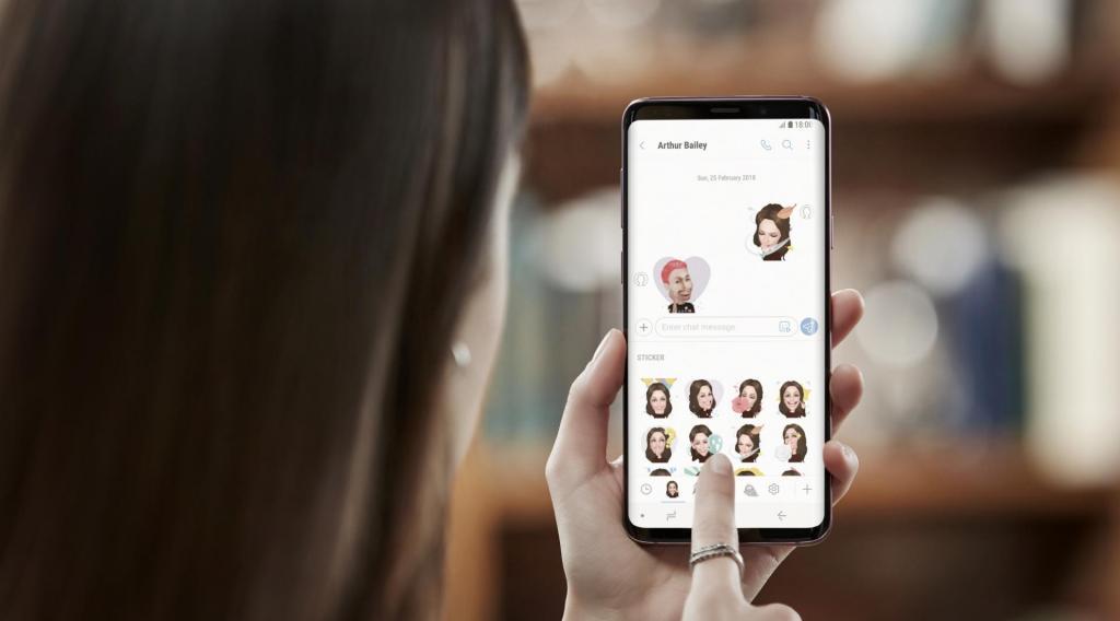 Galaxy S9 my emoji