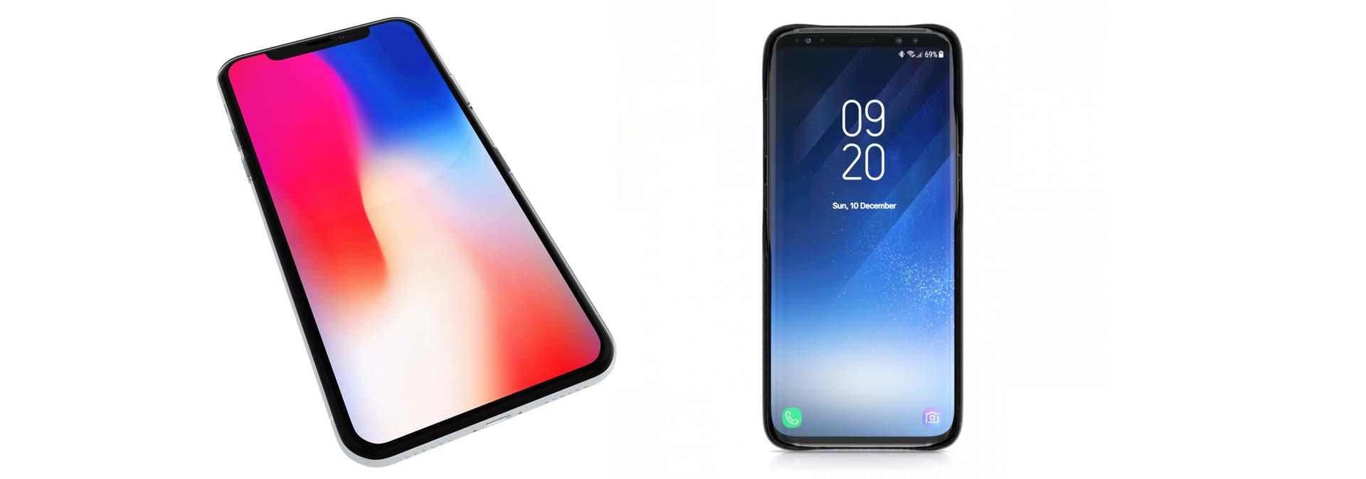 Apple iPhone X vs Samsung Galaxy S9: il confronto