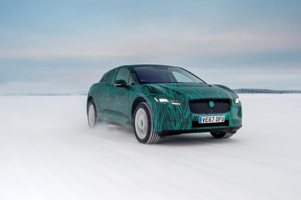 Jaguar I-Pace SUV elettrico Jaguar