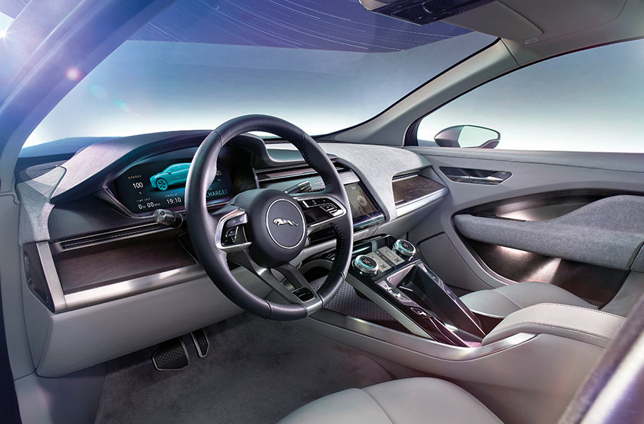 Jaguar i-pace interni