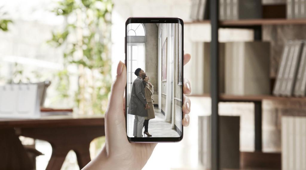Samnsung Galaxy s9 live streaming