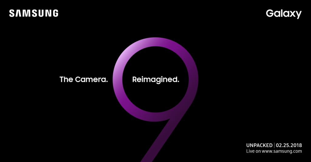 Samsung Galaxy S9 Live-Streaming