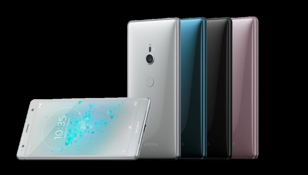 MWC2018 Sony Xperia XZ2 MWC2018