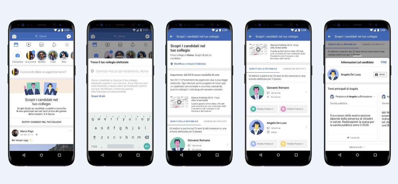 Facebook Candidati lo strumento per prepararsi alle elezioni sui social