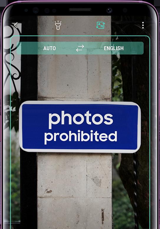 Samsung Galaxy S9 Fotocamera Bixby