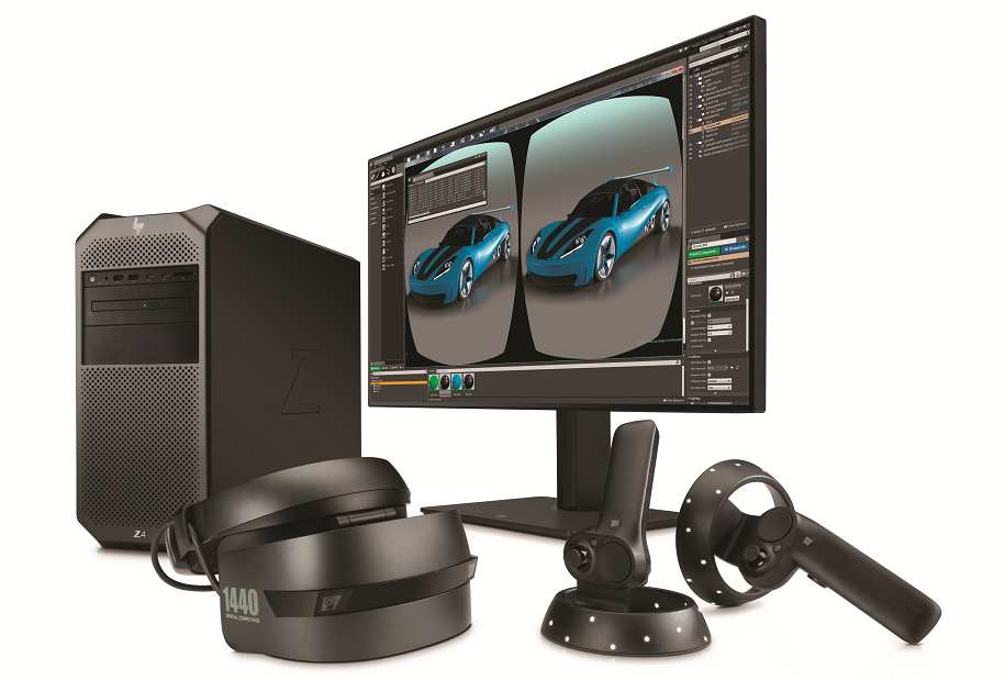 hp workstation e realtà virtuale