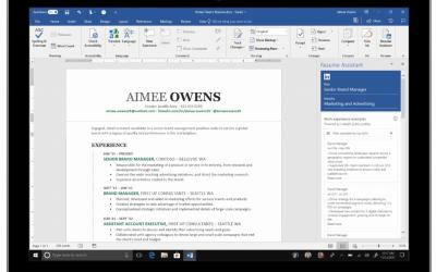 Come migliorare il curriculum con LinkedIn e Office
