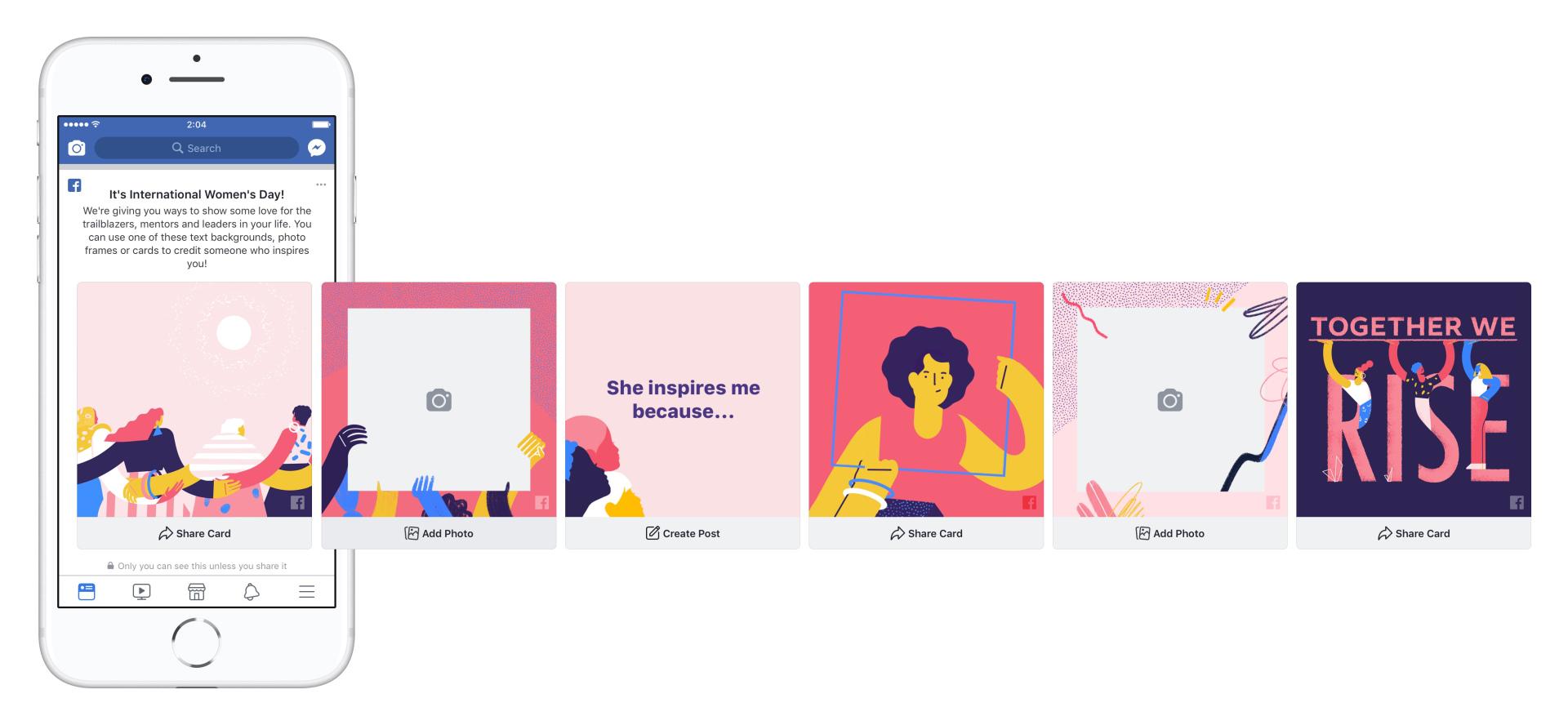 8 marzo, come Facebook festeggia la giornata internazionale delle donne