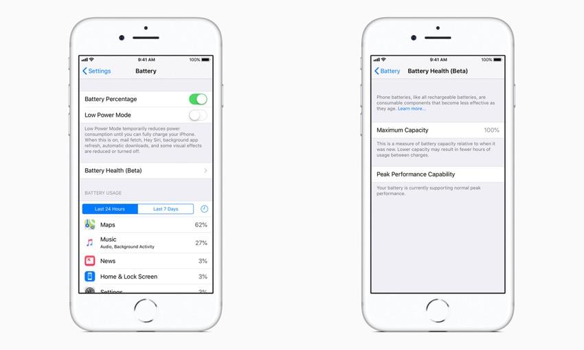 Apple iOS 11.3 aggiornamento