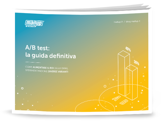 MailUp Ebook a b test