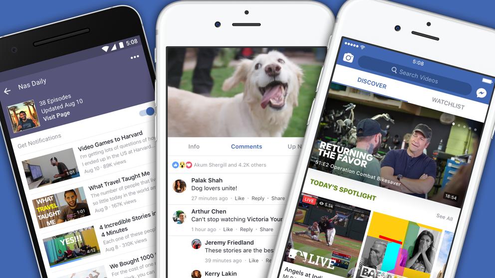 Facebook Watch, in arrivo una sezione speciale di notizie video
