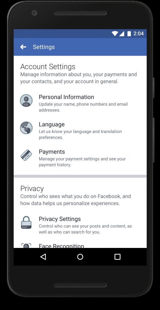 Nuova-Privacy Facebook Strumenti