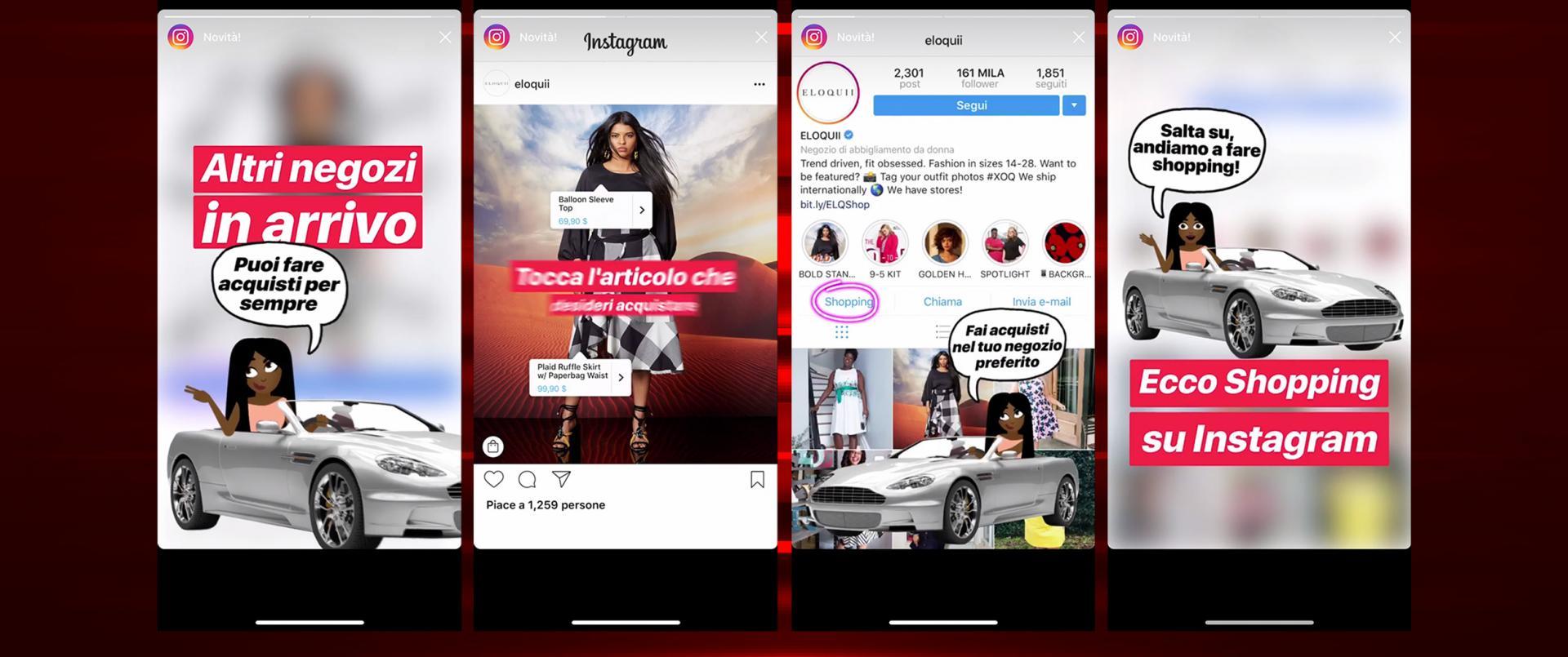 Shopping su Instagram come funziona e come vendere in Italia