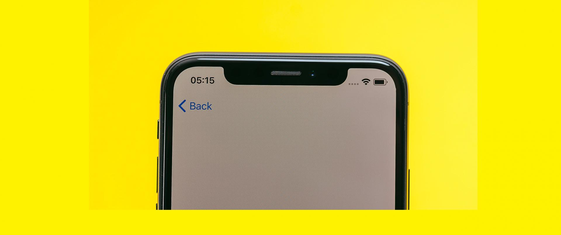 "iPhone: Apple già pronta ad abbandonare il ""notch""?"