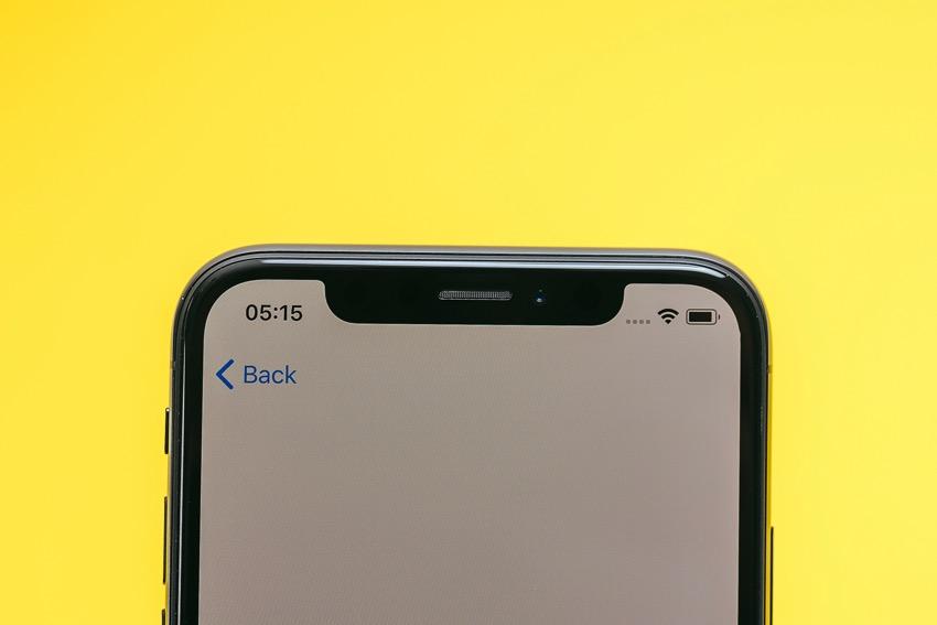 iphone apple notch